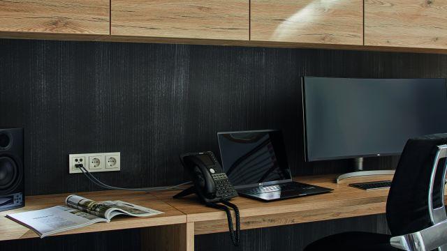 Foto: Beispiele für Multimediaanwendungen in Gebäuden.