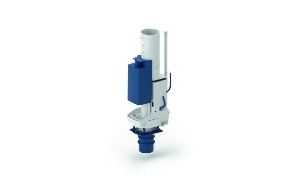 Mit der integrierten Spülstromdrossel lässt sich die Spülstromstärke einfach regulieren.