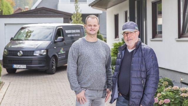 Michael Berkemann und Werner Stute.