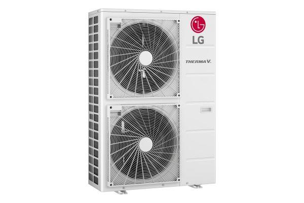 """Ausgestattet mit dem R1-Kompressor von LG ist der """"Therma V Hydrosplit"""" für eine leistungsstarke und zuverlässige Heizung ausgelegt – selbst bei -25° Celsius bietet das Gerät eine Wasseraustrittstemperatur von bis zu 65° Celsius."""