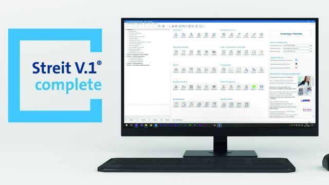 Das Bild zeigt ein Softwareprogramm auf einem Bildschirm.