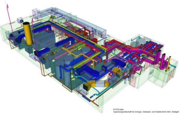 """Im Zentrum der """"Neuen Weststadt – Klimaquartier Esslingen"""": Das """"Es_West_P2G2"""" ist aus städtebaulichen Anforderungen als unterirdisches Bauwerk ausgeführt."""