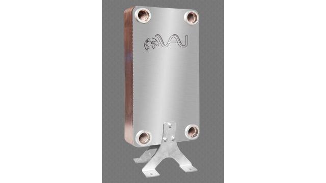 Foto: Kupfergelötete Plattenwärmeübertrager für die Brauchwarmwasserbereitung kommen in den Hochhäusern in verschiedenen Ausführungen vor.
