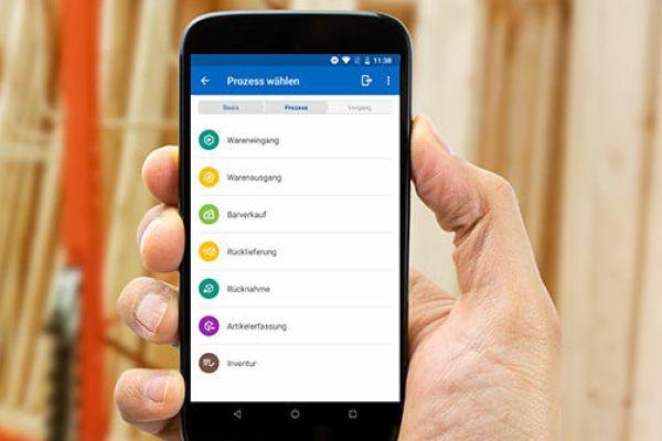 Digitale Lagerverwaltung per App