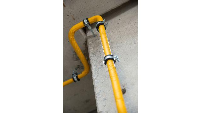 Foto: Das Boagaz-System setzt auf Gasleitungen mit wenigen Verbindungsstellen.