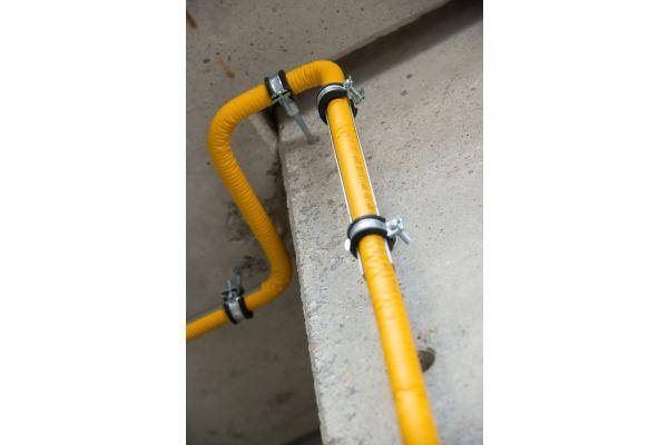 Das Boagaz-System setzt auf Gasleitungen mit wenigen Verbindungsstellen.