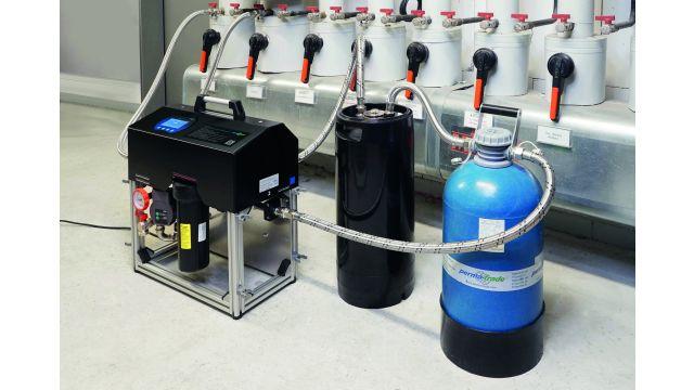 Das Bild zeigt ein Heizungswasseraufbereitungs-Gerät