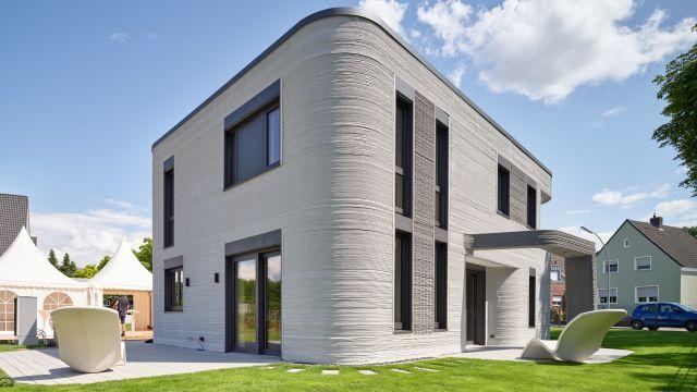 In Beckum ist Deutschlands erstes Wohnhaus aus dem 3D-Drucker entstanden.