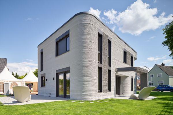 Flächenheiz- und kühlsystem von aquatherm in Deutschlands erstem 3D-gedruckten Wohnhaus