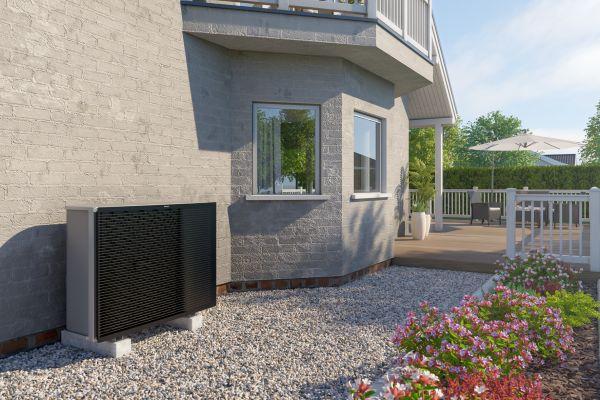 Die Altherma 3 H MT eignet sich, laut Daikin, besonders für den Heizkesseltausch bei Häusern mit Vorlauftemperaturen bis 65 °C sowie Neubauten mit gehobenem Anspruch.