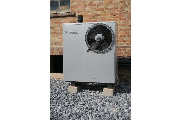 Die Absorptionswärmepumpe Gas HP 18 aus dem Hause Remeha.