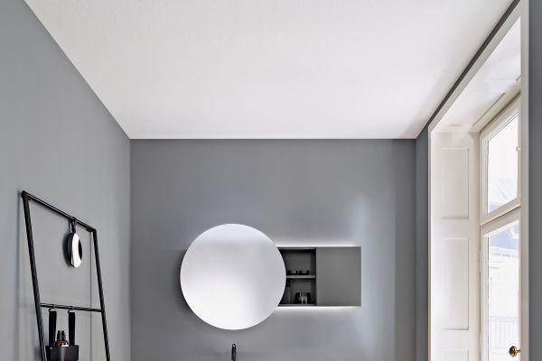 Geradlinig, schlicht, geometrisch und anmutig - Badmöbelkollektion Coco von burgbad.