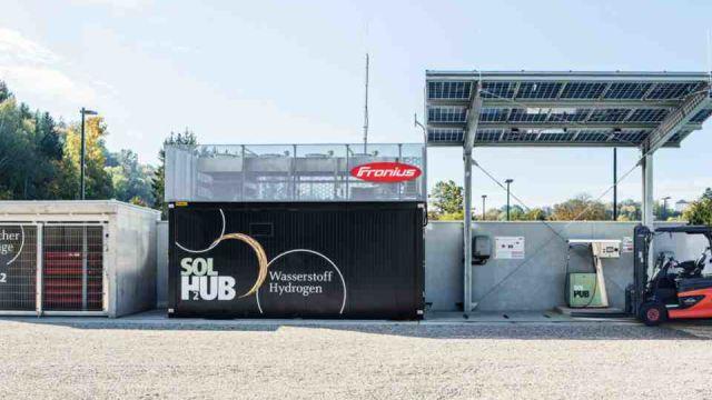 In der Referenz: die Fronius Business Unit (BU) Solar Energy in Wels (OÖ).