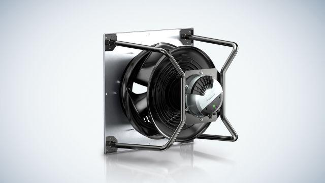 In der Referenz: Der neue RadiPac von ebm-papst, weltweit ein führender Hersteller von Ventilatoren und Antrieben.