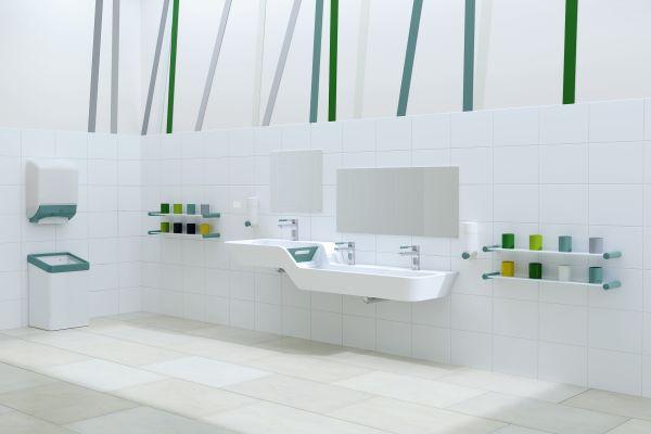 HEWI: Neue Waschtische für das Bad im Kindergarten