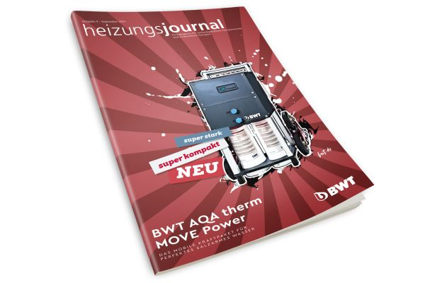 HeizungsJournal - Heft 9, September 2021 HeizungsJournal - Heft 9/2021