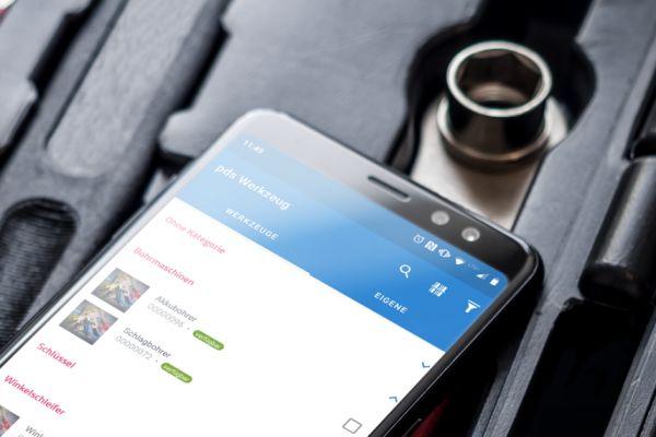Werkzeug- und Geräteeinsatz bequem per App managen
