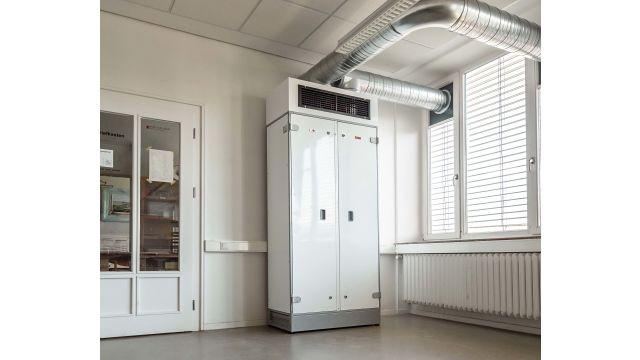 Das Bild zeigt eine Lüftungslösung der Wolf GmbH.