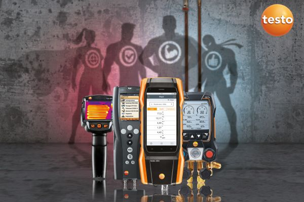 Testo-Messgeräte in Aktions-Sets