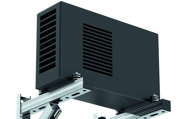 Gerätekonsole für höhere Lasten verstärkt