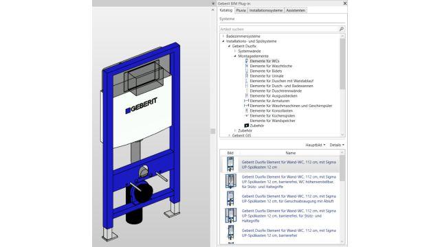 Auf dem Foto ist ein Beispiel der Softwarefunktion zu sehen.