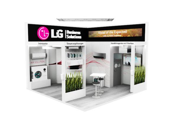 LG Air Solution präsentiert Luftreinigungsprodukte auf der Indoor-Air
