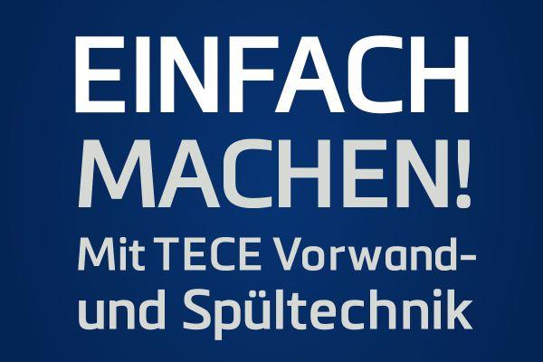 Entdecken Sie die TECE Spültechnik!