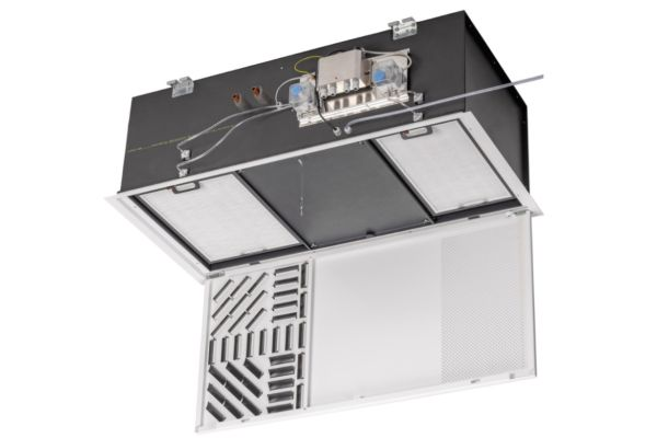 """Der neue Fan Coil """"KaCool D HC"""" zum Heizen und Kühlen wurde speziell für den Einsatz in Räumen des Gesundheitswesens entwickelt."""