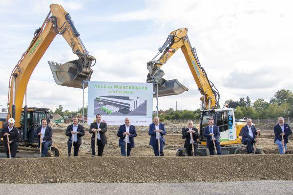 Grünbeck: Spatenstich des neuen Logistikzentrums