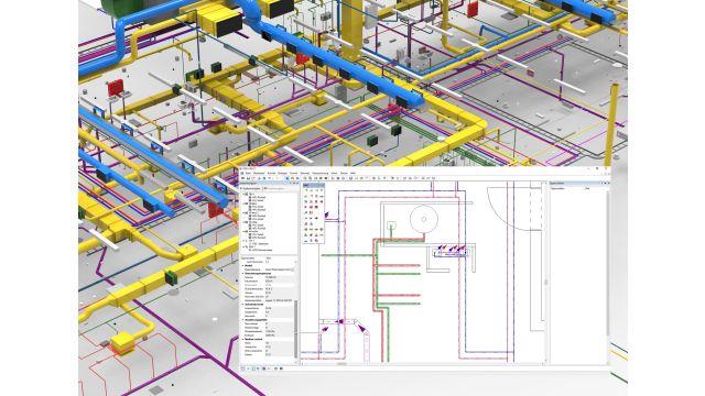 Das Bild zeigt den Systemnavigator der Software.