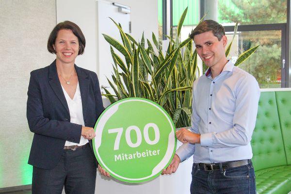 700 Mitarbeiter bei Grünbeck