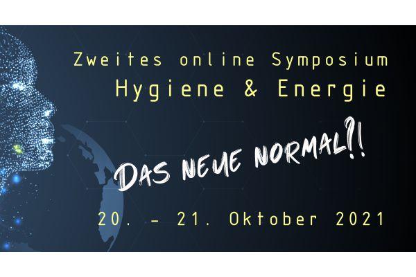 Einladung zum Online-Symposium Hygiene & Energie.