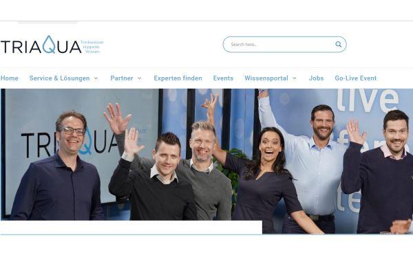 TriaQua - die neue Adresse für Trinkwasserhygiene