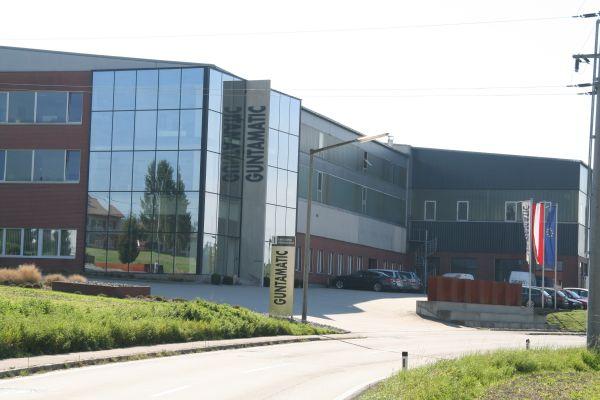 Firmensitz von Guntamatic.