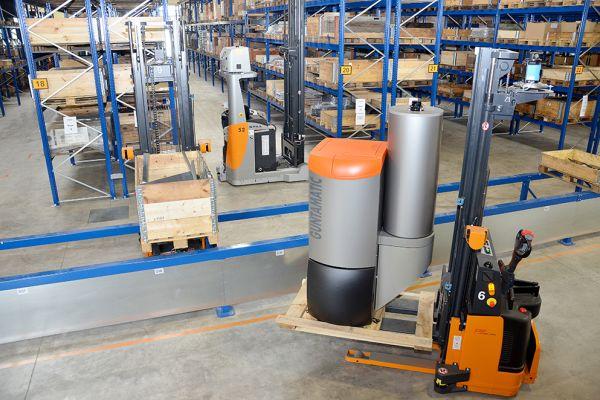 Innovations- und Investitionsfreude steckt bei Guntamatic nicht nur im Kessel. Derzeit wird am Stammsitz in Peuerbach ein vollautomatisches Logistiksystem mit vollautomatischer Materialbeschickung aller Arbeitsplätze integriert.