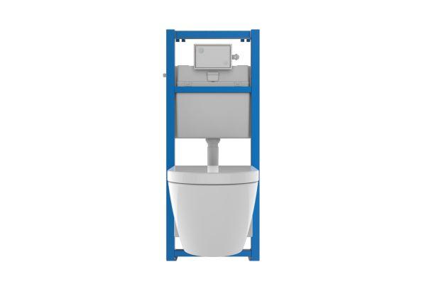 Das Bild zeigt das Sanitärmodul