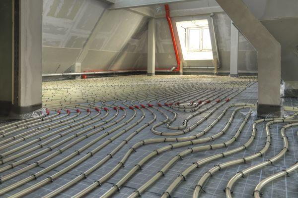 Marburger Hauptbahnhof erfolgreich mit Fußbodenheizung saniert