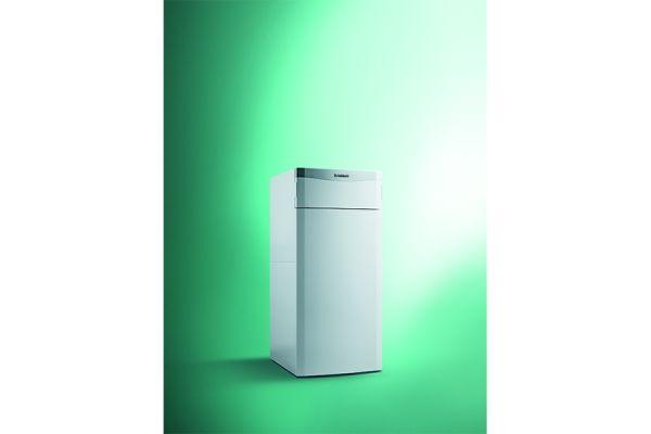 Eine Gasbrennwerttherme nutzt die Abgaswärme