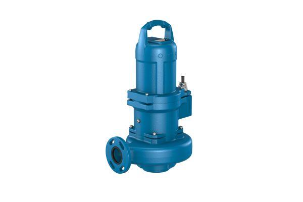 Tauchmotorpumpe zur Beförderung von Abwasser.