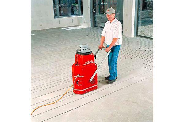 Fußbodenheizung nachträglich eingefräst