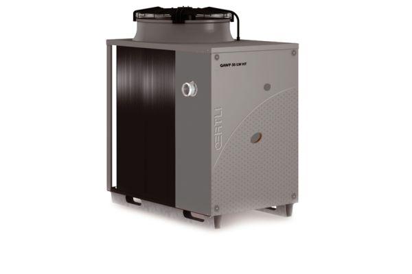 Eine Gas-Absorptionswärmepumpe