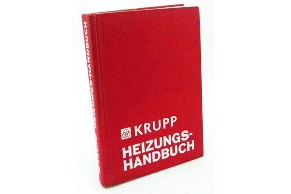 Das Krupp Heizungshandbuch stand in den 70er-Jahren in jedem Planungsbüro auf dem Schreibtisch.