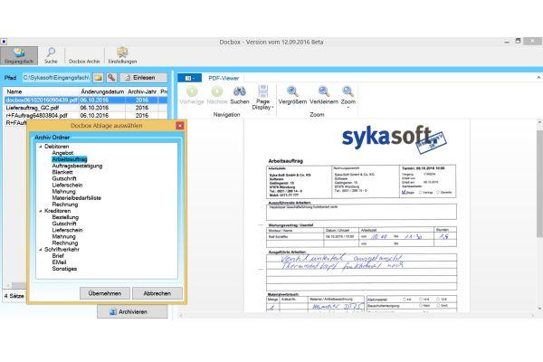 """Rundum digitalisiert mit der """"sykasoft""""-Branchensoftware"""