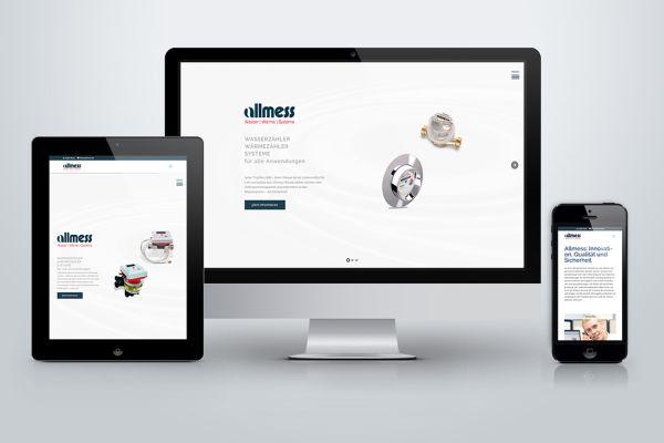 Relaunch der Allmess-Website