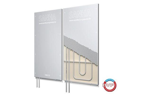 Sanha-Wandheizung für Behaglichkeit mit hoher Qualität