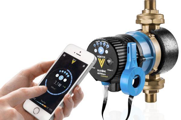 Neue Hocheffizienz-Brauchwasserpumpe fürs Smart Home