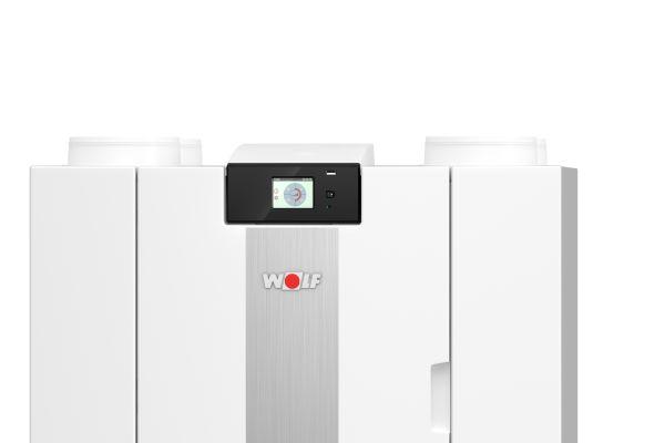 Lüftungsgerät für die kontrollierte Wohnraumlüftung mit Wärmerückgewinnung