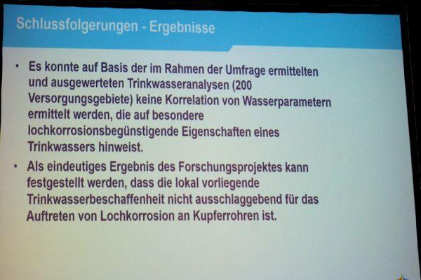 Das Bild zeigt einen Screenshot der DVGW-Präsentation.