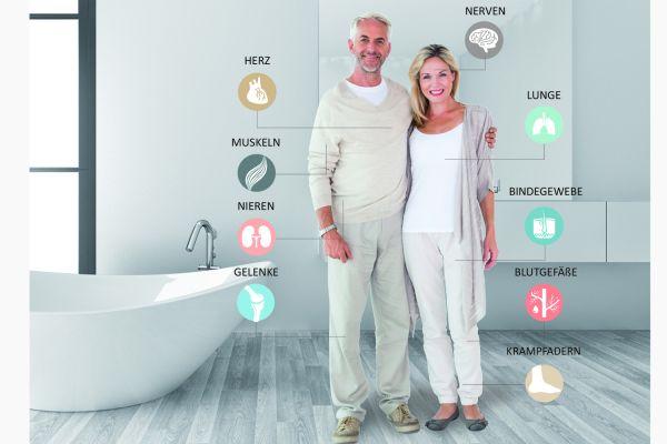 Wie viel Gesundheit steckt im Bad?