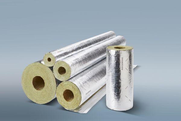 Effektiver Brandschutz mit Rohrschalen von Rockwool